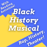 Black History Play Using Black History Rap Songs with Read