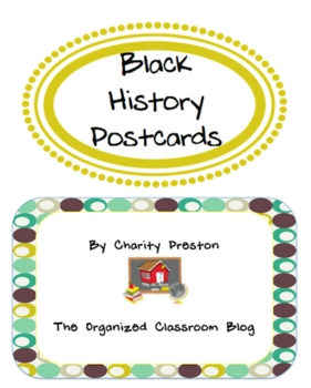 Black History Postcards