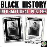 Black History Posters - Black History Month Bulletin Board