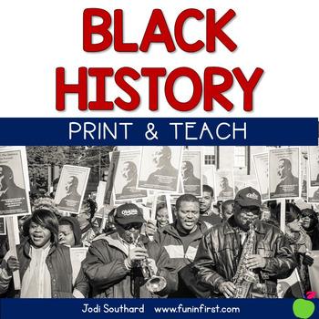 Black History Month Print & Teach