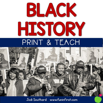 Black History Month Print & Teach