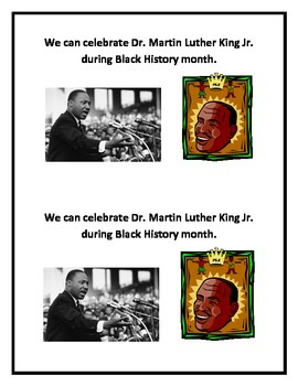 Black History Printable Book