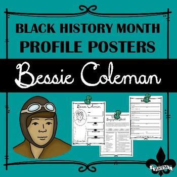 Black History Profil Poster: Bessie Coleman