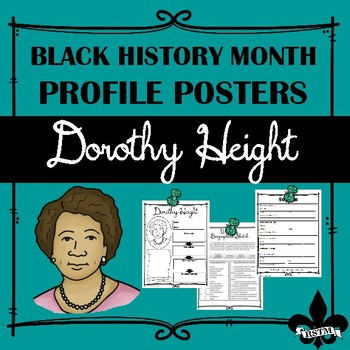 Black History Profile Poster: Dorothy Height