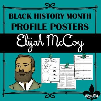 Black History Profile Poster: Elijah McCoy