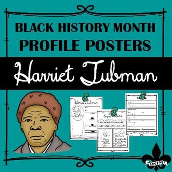 Black History Profil Poster: Harriet Tubman