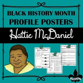 Black History Profil Poster: Hattie McDaniel