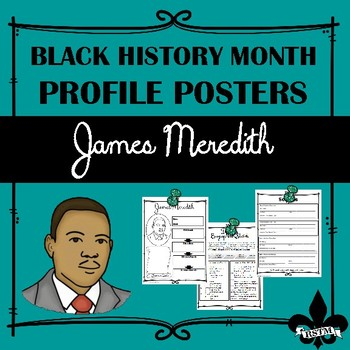 Black History Profil Poster: James Meredith