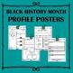 Black History Profil Poster: Nelson Mandela