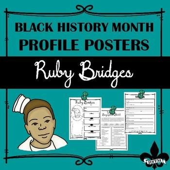 Black History Profile Poster: Ruby Bridges