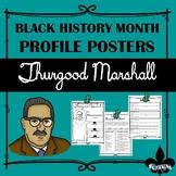 Black History Profile Poster: Thurgood Marshall