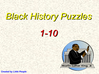 Black History Puzzles