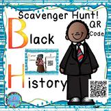 Black History Month Project  Scavenger Hunt using QR Codes!