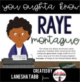 Black History: Raye Montague
