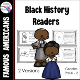 Black History Activity (Reader/Cut & Paste Booklet)