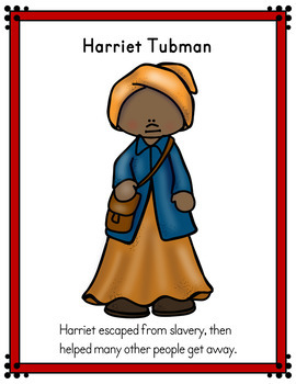Black History Activity (Reader/Cut & Paste Booklet)