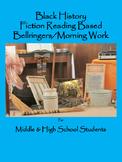 Black History Reading Based Bellringers for Middle & High School