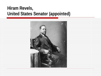 Notable African American Firsts - A PowerPoint Presentation