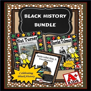 Black History Reading Comprehension Bundle