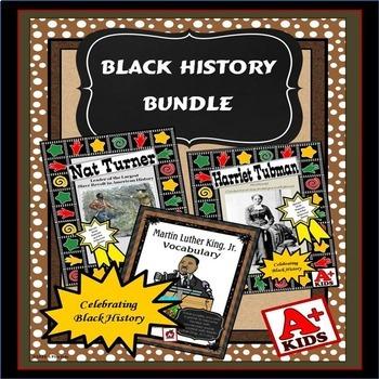 Black History Reading Comprehension Bundle