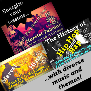 Black History Reading Comprehension Context Clues Passages Worksheets & Songs #1
