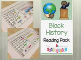 Black History Reading Comprehension Fun - Kindergarten