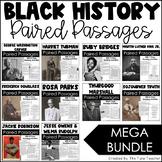 Black History Reading Comprehension Paired Passages {MEGA BUNDLE}