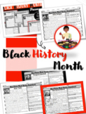 Black History Reading Comprehension Passages NONFICTION (18)
