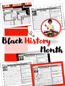 Black History Reading Comprehension Passages NONFICTION (18)