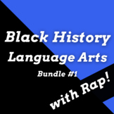 Black History Month Passages and Reading Activities with Songs Bundle #1