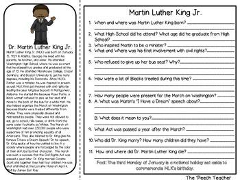 Black History Receptive Language/ Listening Comprehension Set