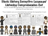 Black History Receptive Language/ Listening Comprehension Set