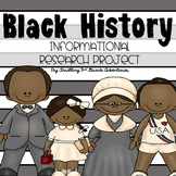 Black History Research and Informational Writing Bundle