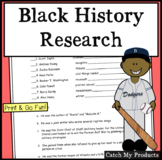 Black History Research and Puzzle Fun (Intellectually Gifted)