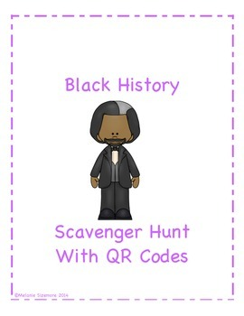 Black History Scavenger Hunt with QR Codes