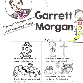 Black History Simple Reading  for Kindergarten