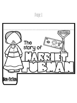 Black History Storybook Series Harriet Tubman