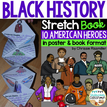 Black History Stretch Book and Poster Set