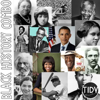 African American Historical Figures Bundle