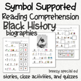Black History - Symbol Supported Picture Reading Comprehen
