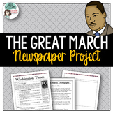 Black History / Martin Luther King Jr. Writing Activity - The Great March