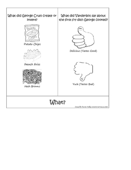 Black History: The Greatest Potatoes Comprehension Flipbook