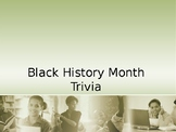 Black History Trivia Power Point