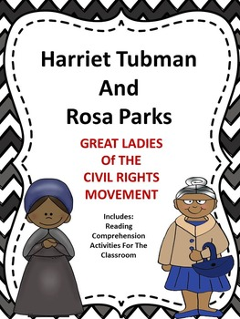 Black History - Rosa Parks and Harriet Tubman
