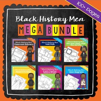 Black History Ultimate Bundle   Printable Worksheets   Black History Month
