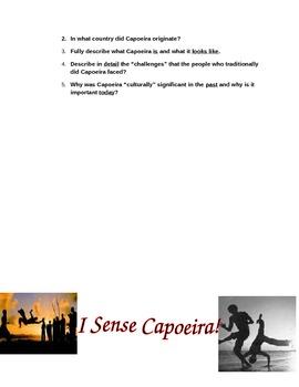 Black History Unit: Exploring Capoeira