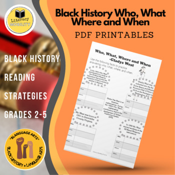 Black History Who, What, Where and When