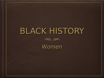 Black History - Women