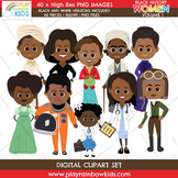 Black History Women Clipart Volume 1