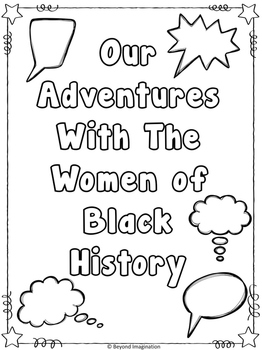 Black History Women Comic Strips | Printable Worksheets | Black History Month